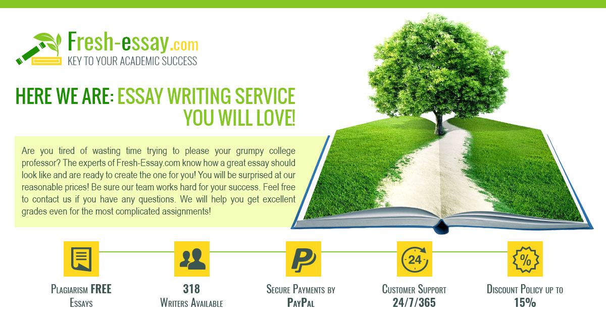fresh essay writing service you can really count on